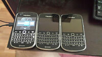 3 Blackberry 9900 Unlocked