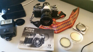 CANON AE-1 SLR CAMERA - EXCELLENT CONDITION