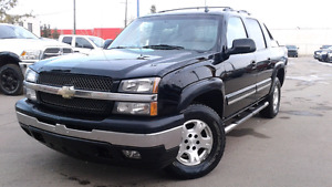 2006 Chevrolet Avalanche LT Pickup Truck 4x4 Leather Black