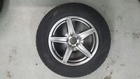 GENUINE MERCEDES BENZ WINTER RIM AND TIRE PACKAGE