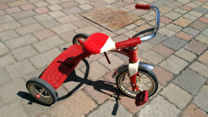 Retro Red Tricycle rouge enfant