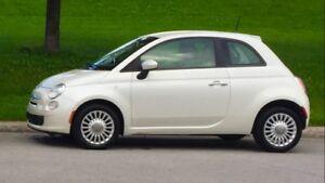 2012 Fiat 500 Pop Coupe (2 door)