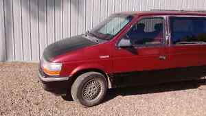 1991 Plymouth Grand Voyager Limited Edition - Runs Great!