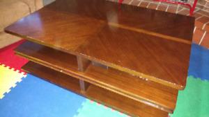 Table salon basse avec rangements