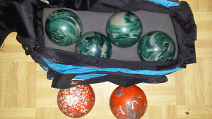Bowling Balls with bag - $75.00 OBO