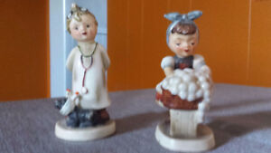 Napco Figurines - Little Vet and Washing