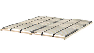 King size IKEA Lonset Slatted bed support