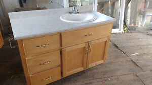 "48"" Vanity with SINK and FAUCET"