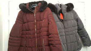 Calvin Klein Down Jacket, XL (fits more of a Large size)