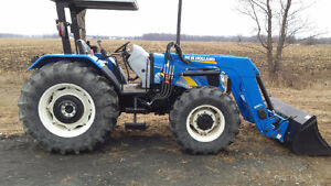 NEW HOLLAND T5070 LOADER TRACTOR / READY TO WORK / ***455HRS*** London Ontario image 1
