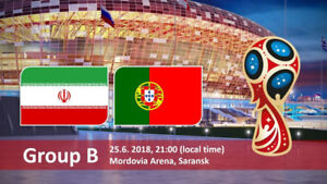 Fifa World Cup 2018 Iran - Morocco - Portugal - Spain Tickets