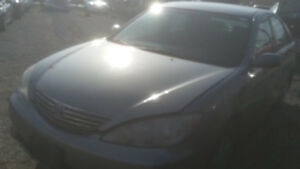2005 TOYOTA CAMRY NEW FOR PARTS @ PIC N SAVE WOODSTOCK