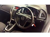2012 Vauxhall Astra 1.4i 16V Excite 5dr Manual Petrol Hatchback