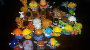 Figurines Fisher Price Little People Animaux et Bonhommes