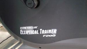 Fitness club elliptical trainer f200