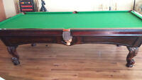 Perfect pool/snooker table