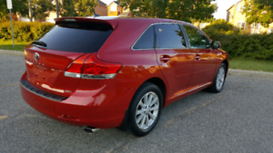 2009 Toyota Venza AWD 4cylinder Red certified 1 OWNER!!