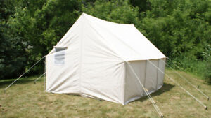 10 x 9 canvas wall tent