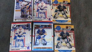 Curtis Joseph NHL rookie cards