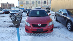 2009 Toyota Corolla CE, Auto, SAFETIED, ONLY 69,000KM,$7995obo
