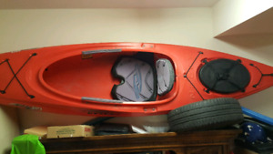 necky kayak and accessories