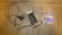 PlayStation Move Controllers (x2) - PlayStation Eye - Game