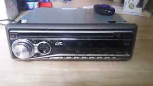 Jvc serious with audio input