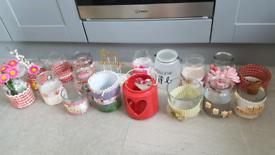Assortment of jars Wedding/Birthday/ Garden only £5