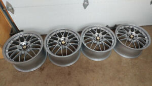 """Volk Racing se37a 18"""" 5x114.3 Lightweight/Staggered/forged"""