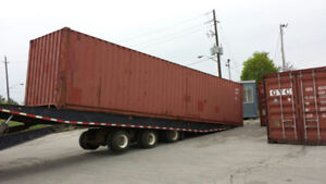 Shipping Containers - 100% LEAK FREE