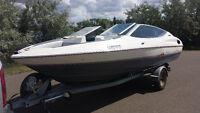 1990 BAYLINER CAPRI 19 FT OPEN BOW 135HP Price REDUCED