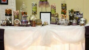 Candy bar vases!