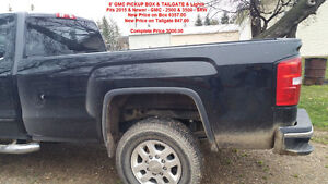8' Pickup Box & Tailgate - 2015 & Newer GMC 2500 & 3500 Regina Regina Area image 1