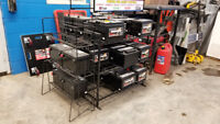 We have car batteries,new and used starting at $20. exchange. Brantford Ontario Preview