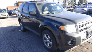 2010 ford escape v6 limited