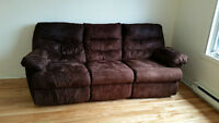 BEAUTIFUL RECLINING SOFA, BELLE SOFA INCLINABLE, LASALLE
