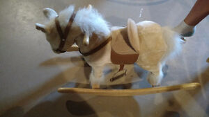 REDUCED! Rocking Horse With Sounds