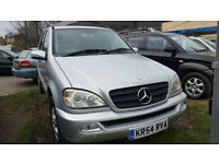 Mercedes-Benz ML270 2.7TD auto CDI 7 SEATER - 2004 54-REG -