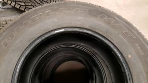 265/70R17 Bridgestone Duelers H/T