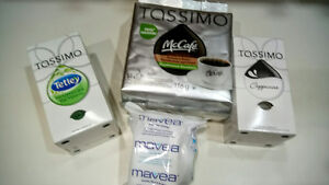 Reduced Brand new Tassimo coffee (water) filter +coffee refills Belleville Belleville Area image 1