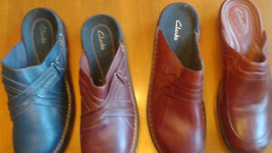 Brand new Clarkes and many high end name brand shoes