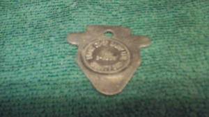 Brant  CO OP  Dairy Brantford  Token
