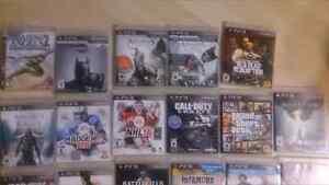 Jeux PS3 à vendre (GTA 5, AC Rogue, Far cry 4, etc)