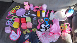 bag of baby doll toys
