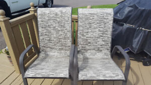 Two deck chairs for sale