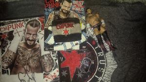 WWE *CM PUNK* Fan Package