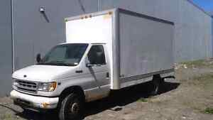 CUBE FORD f350 14 pied