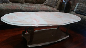 Coffee table plus 2 side tables - used - $100 OBO