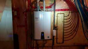 Tankless water heater SALE!