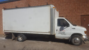 2003 Ford E-450 CUBE TRUCK 16FT